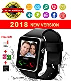 Reloj Inteligente, Impermeable Bluetooth Smart Watch con Camara, SIM/TF Ranura, Monitor de Sueño,...