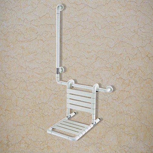 MDRW-Sicherheit-HandlaufBarrierefreie multifunktionale Duschstühle, alte Sicherheit Duschliege, Nylon Slip Dusche Stuhl klappbar
