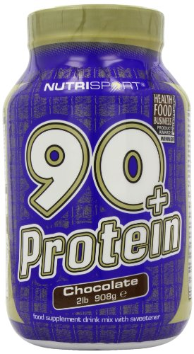 Nutrisport 90+ Protein Chocolate Powder 908g Test