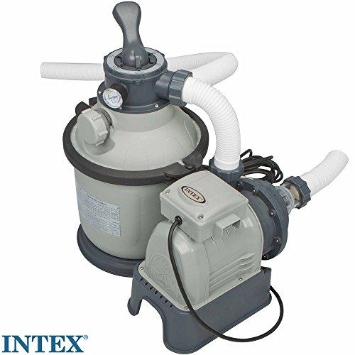 Sandfilteranlage 4m³/h, 230V, 190 W, für 12 kg Sand, mit Zeitschaltuhr || Sandfilter Pool Filter Pumpe Filterkessel