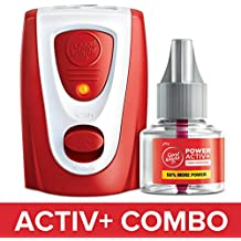 Godrej Goodknight Power Activ+ System, Mosquito Repellent Combo Pack (Machine + Refill 45 ml)