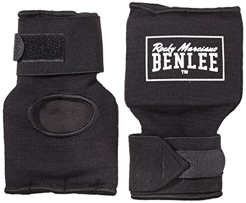 BENLEE Rocky Marciano Herren Handbandage Foreman, Schwarz, L, 199089