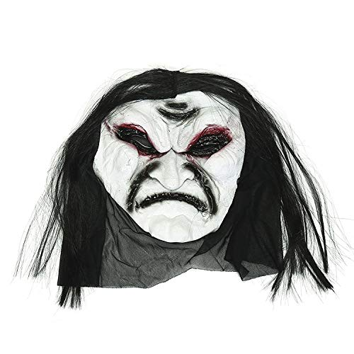 (MIANJU@ Halloween Maske Horror Scary Maske Tricky Gesicht Spielzeug Halloween Make-up Party Prom Dress up Requisiten)