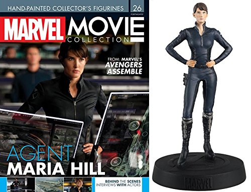 FIGURA DE RESINA MARVEL MOVIE COLLECTION Nº 26 MARIA HILL