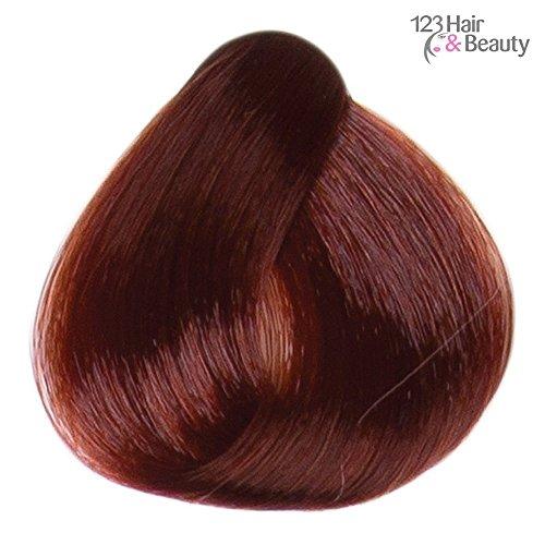Verbesserung Der Lippenfarbe (Ion Permanent Hair Colour 100ml - 6.46 Dark Copper Red Blonde 100ml)