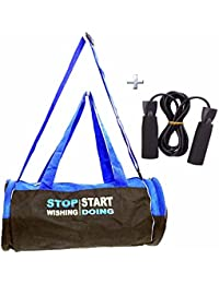 Combo Protoner Gym Bag Stop Wishing Start Doing With Gloves