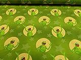 Generic Kinderstoff Frosch Kermit Baumwoll-Jersey 95% BW/5%