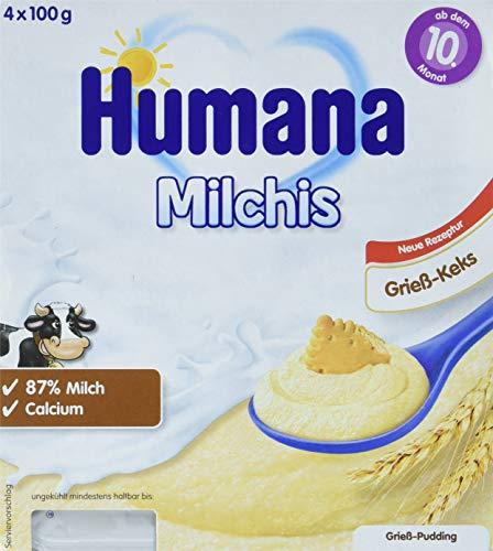 Humana Milchis Grieß Vanille, 6er Pack (6 x 400 g)