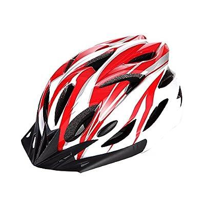 Lightweight Road Bike Racing Bicycle Cycling Helmet Visor Adjustable Men/Women Mountain Bike Helmets Bike Helmet BMX Bike Helmets by Shuangjihshan