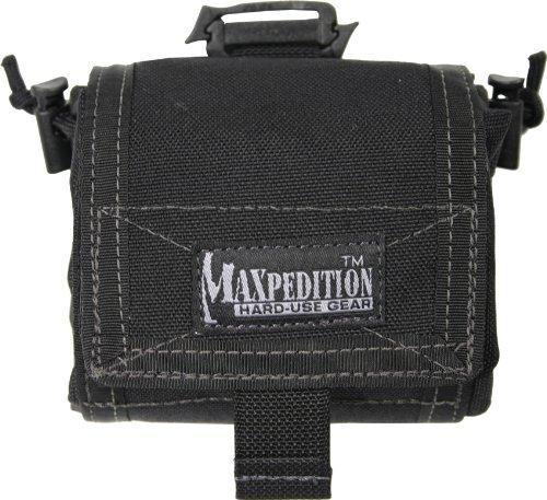 Maxpedition Faltbeutel Mega Rollypoly, schwarz, 0209 - Maxpedition Admin Pouch