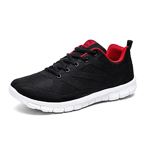 BRKVALIT Chaussures de Sport pour Mixte Adulte Chaussures de Course Running Fitness Sport Gym Baskets Shoes