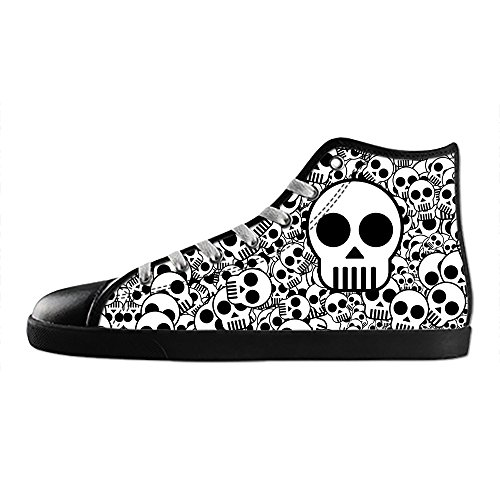 schuh C Dalliy Leinwand Canvas top Skull Cool Shoes Schuhe Segeltuchschuhe Sneakers High turnschuhe Men's Lace up OOAqZwfB