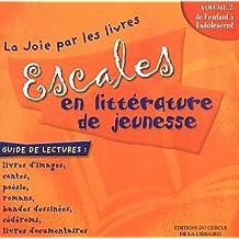 Escales en littérature de jeunesse : Volume 2, De l'enfant à l'adolescent