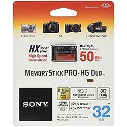 Sony Ecopack Carte Memory Stick Pro Duo 32 Go