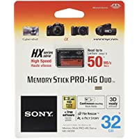Sony 32GB Flash Memory Card - PRO Duo Card - MSHX32B