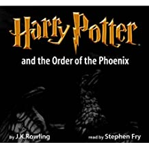 Rowling, Joanne K., Vol.5 : Harry Potter and the Order of the Phoenix, Adult cover, 22 Cassetten, engl. Version