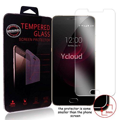 Ycloud Panzerglas Folie Schutzfolie Bildschirmschutzfolie für UMIDIGI Plus screen protector mit Härtegrad 9H, 0,26mm Ultra-Dünn, Abger&ete Kanten