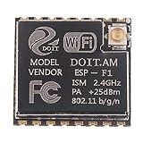B Blesiya ESP-12F Wireless WiFi Modul Abgeschirmte Breakout-Platine Für Drahtlose Standorterkennung