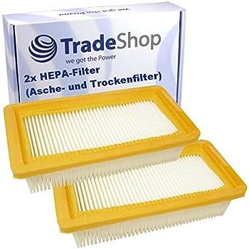 2x HEPA-Plat Plis-Filtre lamelles Filtre Pour Karcher mv4 Premium Go mv5 CH