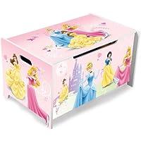 Preisvergleich für Disney Princess Spielzeugkiste Truhe Spielzeugbox Aufbewahrungskiste Prinzessin 84718PS