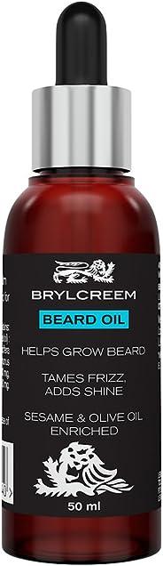 Brylcreem Beard Oil - Helps Grow Beard, 50 ml