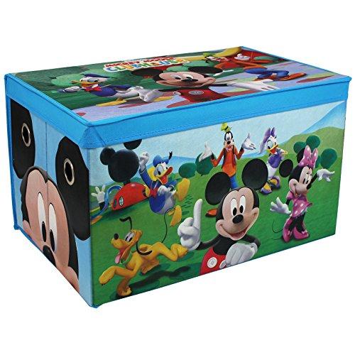 Minnie-möbel Und Mickey (Spielzeugbox - Spielzeugkiste - Aufbewahrungskiste - Stoffbox mit großen Stauraum (Mickey Mouse))