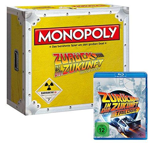 Winning Moves 44307 - Monopoly: Zurück in die Zukunft Collector's Edition (mit Blu-Ray)