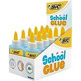 BIC School Glue Colles Liquides - Boîte de 12