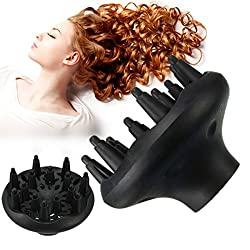 Tradico Profession Hair Styling Accessories Curl Dryers Diffuser Gale Wind Mouth Covers