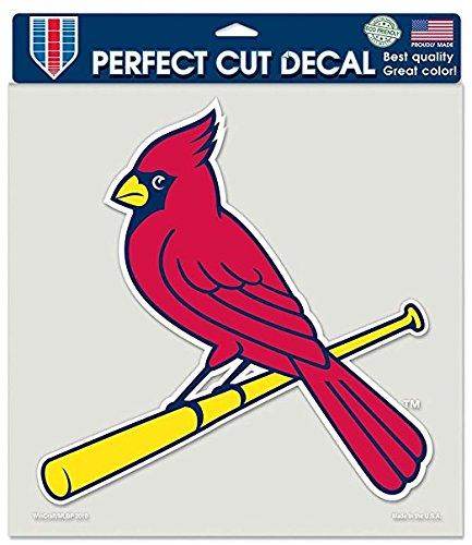 Caseys Verteilen 3208579936 St. Louis Cardinals Die-Cut Aufkleber-8 in. x 8 in. Farbe (Louis St Cardinals-aufkleber)