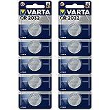 Varta CR2032 Lithium Batterien Elektronik, 3V Batterie, 10er Blisterverpackung 10er Knopfzellen