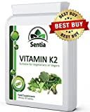 ★ Vitamin K2 100mcg ★ Vegan Capsules MK-7 (UK Manufactured) Premium Quality, Suitable for Vegetarians & Vegans - 100% Satisfaction. Love What You Eat!