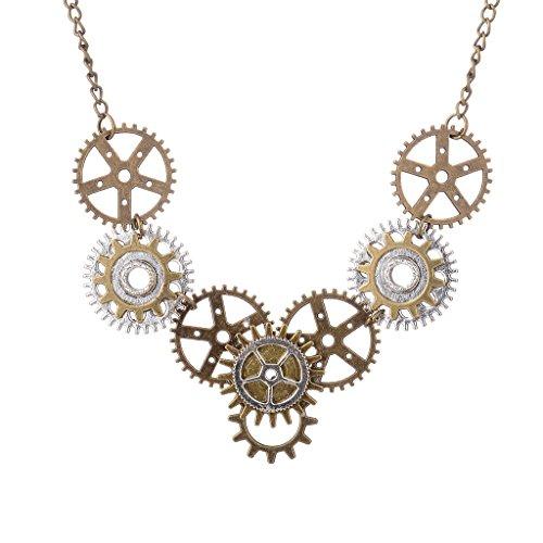 MagiDeal 1 Stück Klassische Einstellbar Halskette für Damen Herren Mode Schmuck