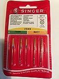 5 Singer Nadeln System 2045 Stärke 70/09 und 80/11 leichte Kugelspitze für Jersey und Strickware