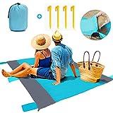 trounistro Picknickdecke, 200 * 200 cm, Outdoor Stranddecke Picknick Matte Campingdecke Outdoordecke Sitzunterlage wasserdichte Ideal für Strand, Reisen, Festival, Camping