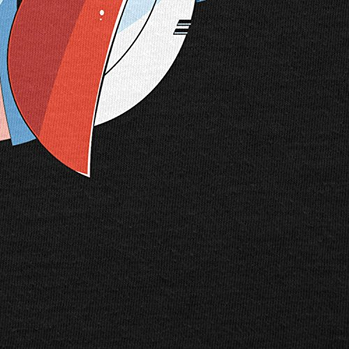 TEXLAB - Rock Man - Herren Langarm T-Shirt Schwarz