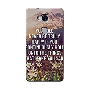 HAPPY SAD QUOTE BACK COVER HONOR 5C