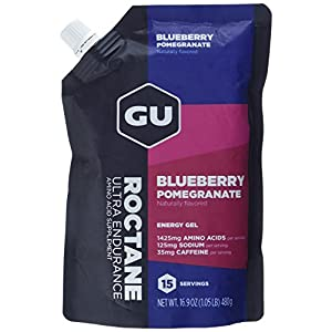 GU Roctane Energy Gel, Blueberry Pomegranate, 1er Pack(1 x 480 grams)