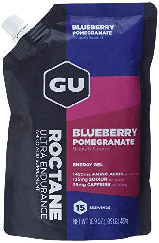 GU Roctane Energy Gel, Blueberry Pomegranate, 1er Pack(1 x 480 grams)