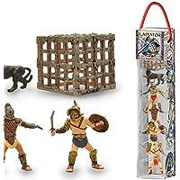 Plastoy - Gladiateurs Tubo de 6 Figurines, 70388