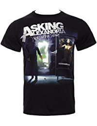 Official T Shirt ASKING ALEXANDRIA From Death To Destiny All Sizes