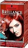 Schwarzkopf Brillance Intensiv-Color-Creme Stufe 3, 845 Color Brokat Rot