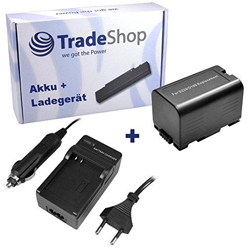 ANGEBOT IM SET: Hochleistungs Kamera Li-Ion Akku + Akku Ladegerät mit Kfz Adapter ersetzt PANASONIC CGR-D16A/1B CGR-D16SE/1B CGR-D210 CGR-D220 CGR-D220A/1B CGR-D220E/1B CGR-D320 CGR-D320A/1B