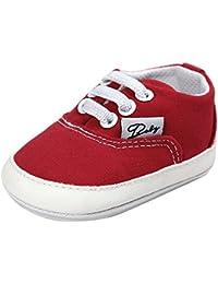 YanHoo Bebé niña niño Zapatos de Lona Zapatos Casuales Zapatos Deportivos Zapatos para niños Zapatos para