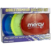 LATITUDE 64 World Champion Disc Golf Set Opto Line 3 discos Putter, MIDRANGE, driver