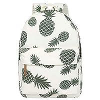 Oflamn School Bag Bookbag Backpack for Teenage Girls Boys Lightweight Waterproof