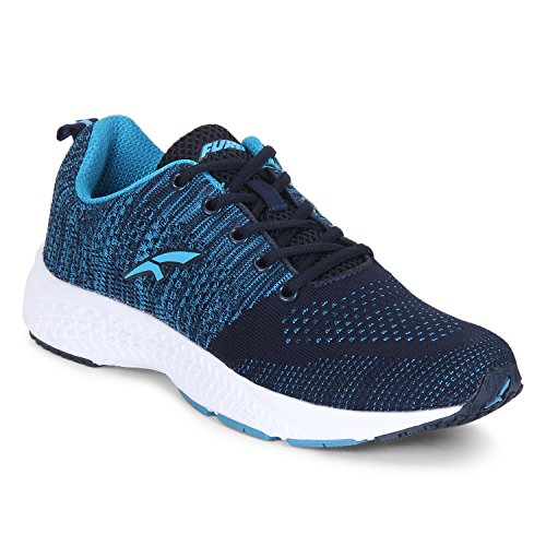FURO Red Chief Men's Blue Mesh Running Sport Shoes (9 UK/India)