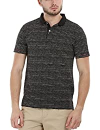 Dotted Print Polo T-Shirt