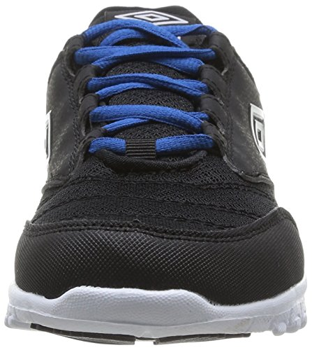 bleu Umbro Danube Didbury 250-noir noir Uomo Sneaker - Nero