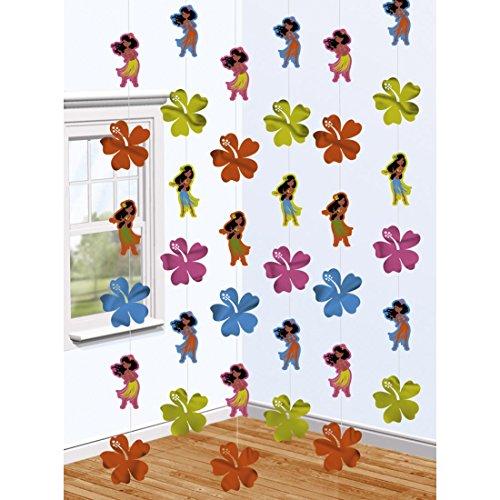 6-guirnaldas-hawaianas-con-motivos-Hula-Girls-decoracin-playa-verano-adornos